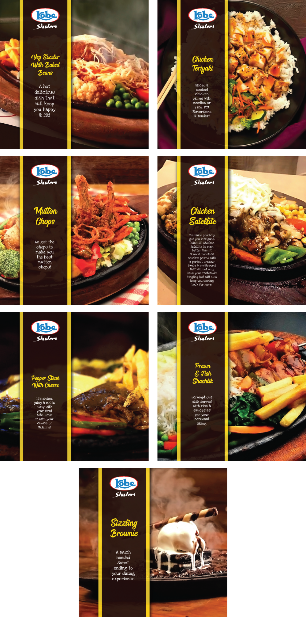 SOCIAL MEDIA DESIGN KOBE SIZZLERS FACEBOOK BY FS THE CREATIVE